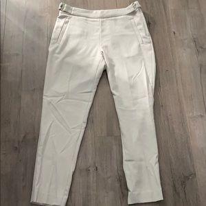 NWT - H&M cream linen pants - Sz. 6